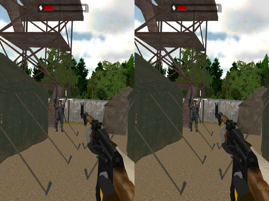 VR Real Commando Adventure : Possible Mission 2016 screenshot 5