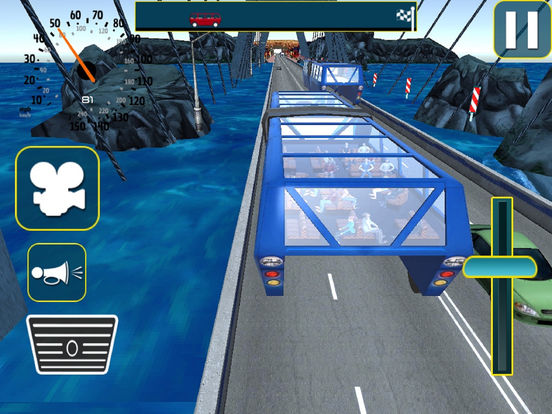 Vr City Elevated Bus : Gyro-scope Bu-s Par-king screenshot 4