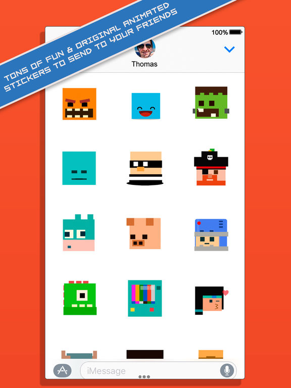 BoomBit iMessage Stickers screenshot 8