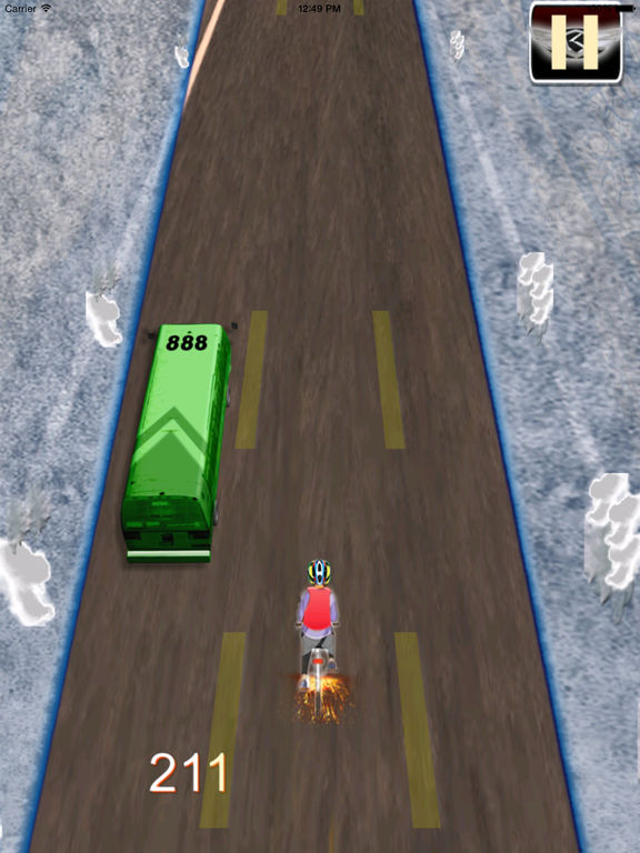 A Road Cycling Runner PRO - A Xtreme Adrenaline screenshot 8