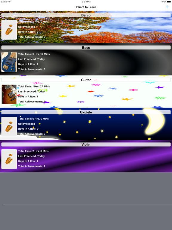 Inspire Music Practice Journal screenshot 10