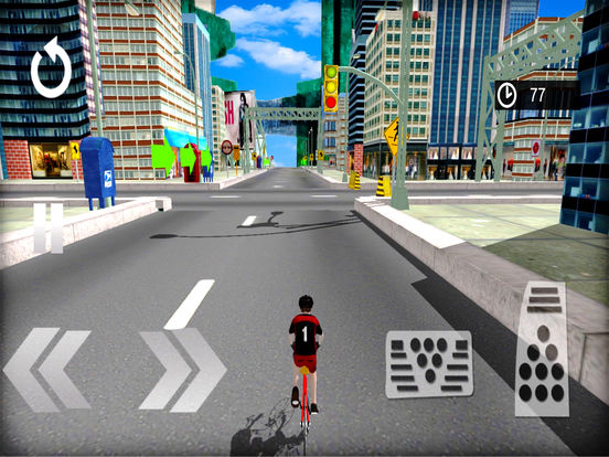 3D Cycle Simulator : New City Bicycle Racing Game screenshot 7