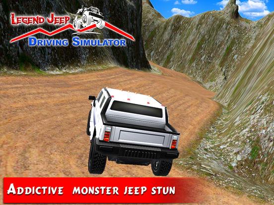 Legend Jeep Driving Simulator screenshot 9