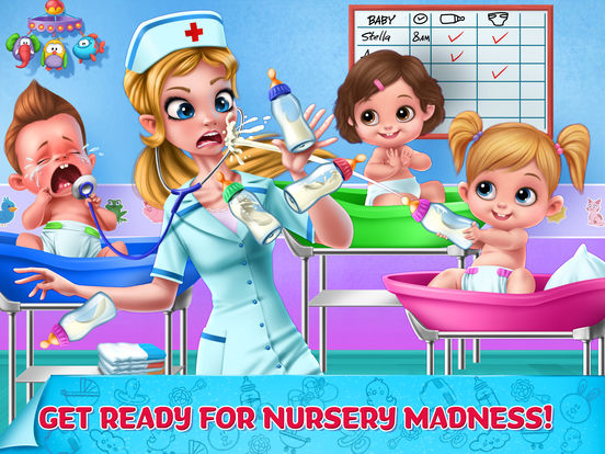 Crazy Nursery - Newborn Baby Doctor Care screenshot 6