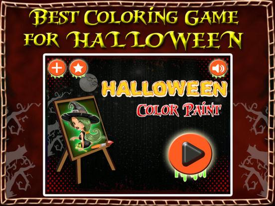 Halloween Happy Coloring Book screenshot 6