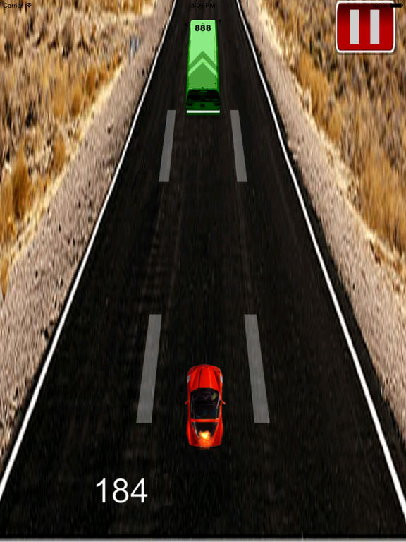A Fast Car Racing Pro - Furiously On The Highway screenshot 9