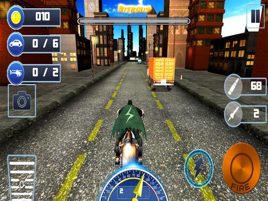Gunship Bike Shooter : 3D Free Highway Attack screenshot 8