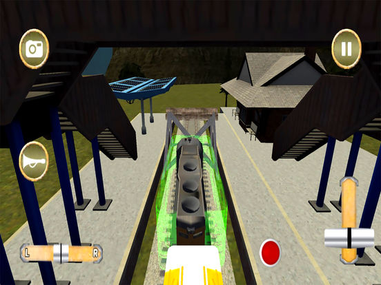 Train Racing Simulator : Bullet Racer 2016 screenshot 6