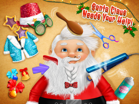 Christmas Animal Hair Salon 2 Crazy Santa Makeover screenshot 7