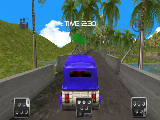 Mountain Ricksha Drive : 3D New Simulation 2016 screenshot 6