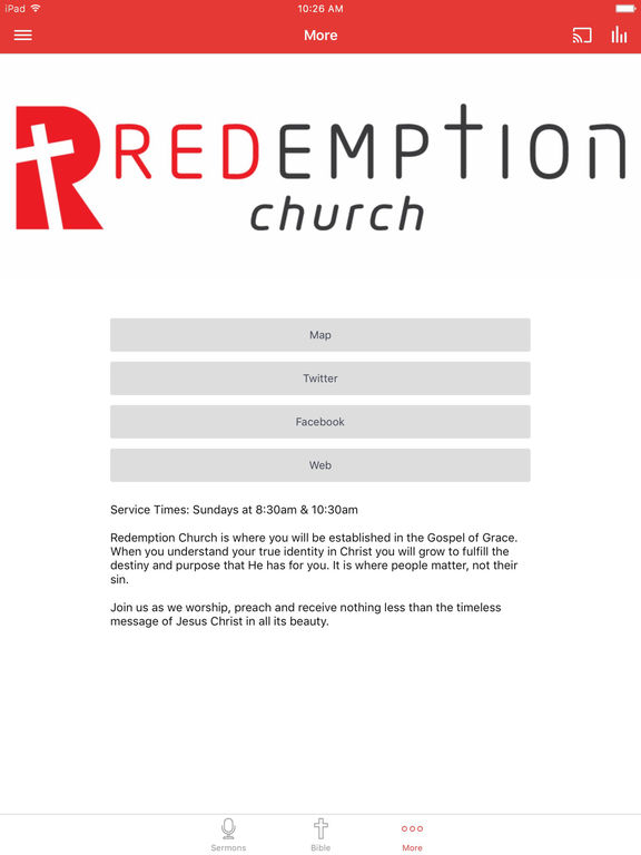 Redemption Church South Africa screenshot 6