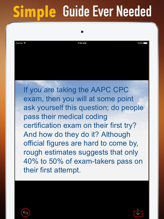 CPC Exam Glossary - Cheatsheet and Study Guide screenshot 7