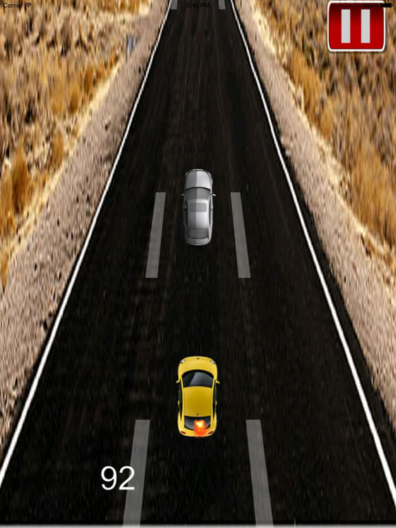 Car Highway Traffic Extended - A Fiery Race screenshot 10