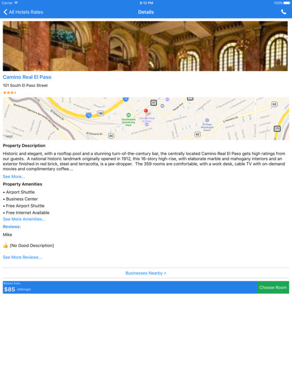 i4elpaso - El Paso Hotels & Yellow Pages Directory screenshot 7