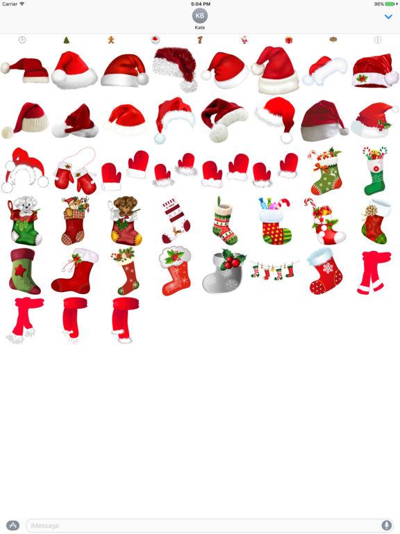 400+ Christmas Stickers screenshot 9
