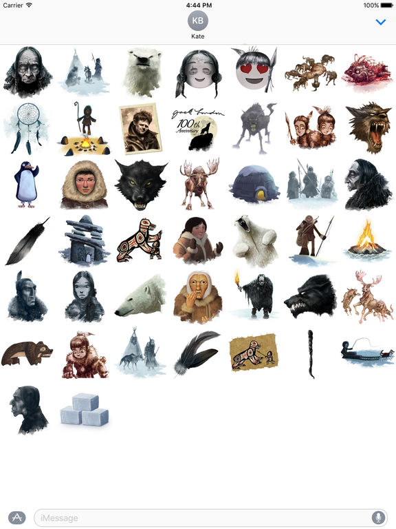 Jack London Stickers screenshot 3