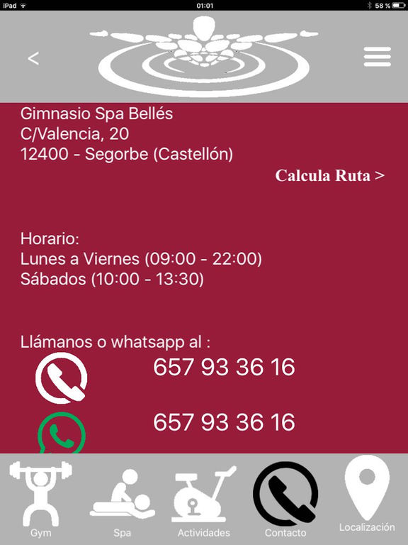 Gimnasio Spa Belles screenshot 8