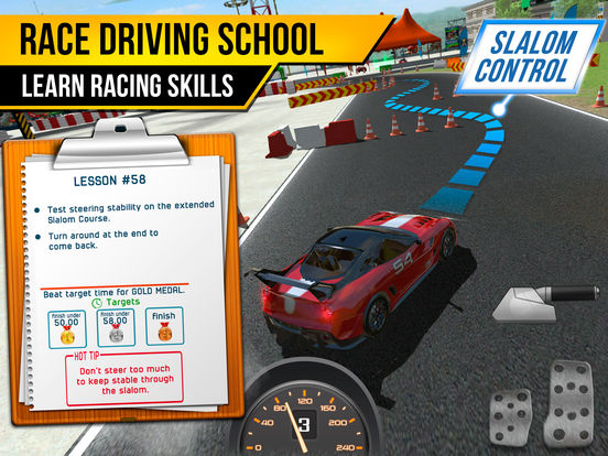 Race Driving School Car Racing Driver License Test screenshot 7
