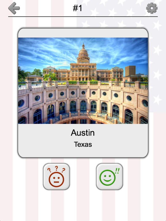 US Cities and State Capitol Buildings Quiz screenshot 7