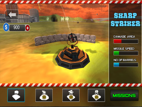 Missile Defence System : Free Army strategy Game screenshot 6