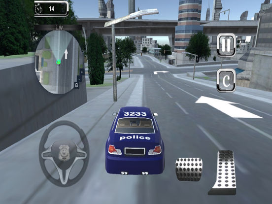 Police Parking Simulator : Real Driving Skill Test screenshot 5