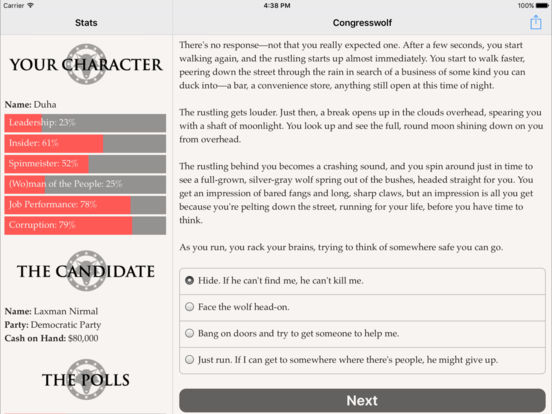 Congresswolf screenshot 9