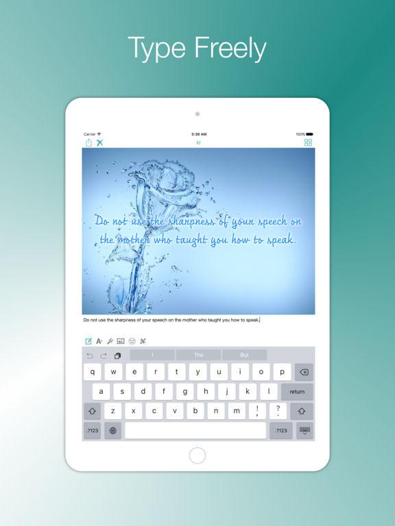 Type Freely screenshot 6