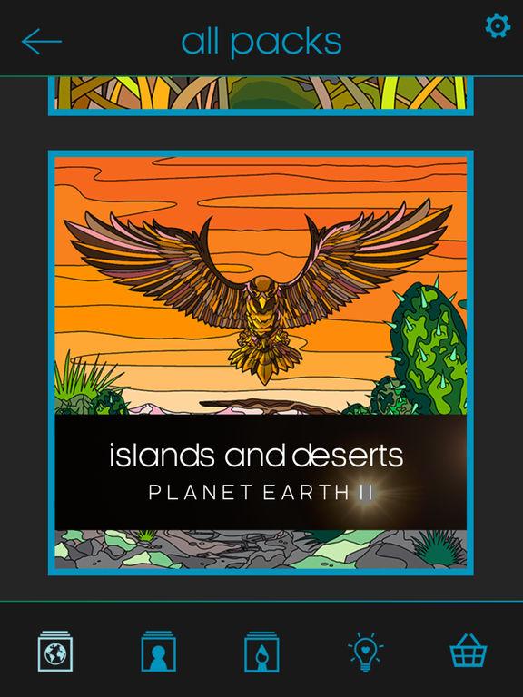 BBC Earth Colouring screenshot 6