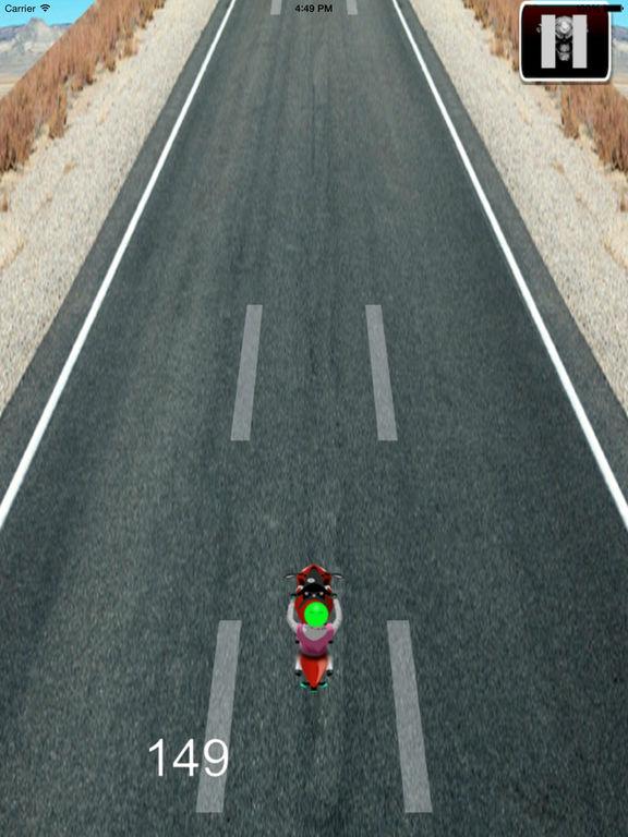 Adrenaline Formula on Motorcycle - Explosive High Speed Race screenshot 7