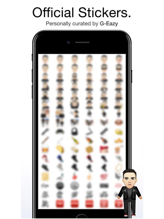 G-Eazy ™ by Moji Stickers screenshot 6