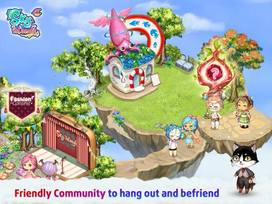 Sky Islands - Anime Dress Up screenshot 10