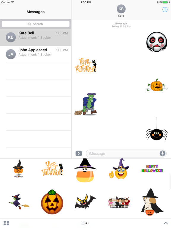 Best Halloween Stickers+ screenshot 4