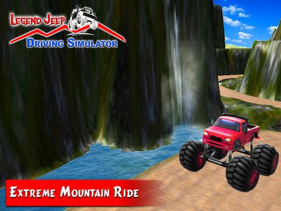 Legend Jeep Driving Simulator screenshot 10