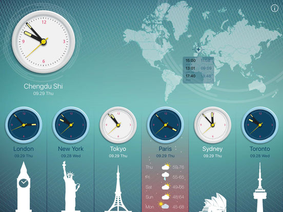 World Clock 2 screenshot 8