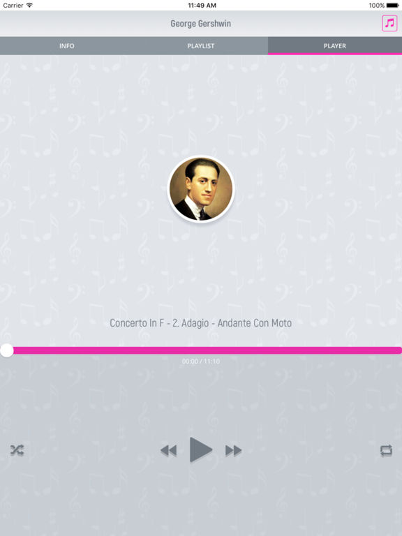 George Gershwin - Classical Music Full screenshot 8