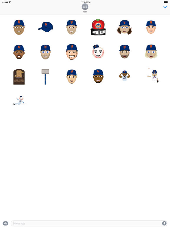New York Mets 2016 MLB Sticker Pack screenshot 3