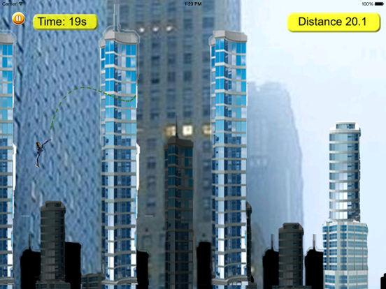 Barbara Style Rope PRO - A City In Fly Jump Bones Broken screenshot 8
