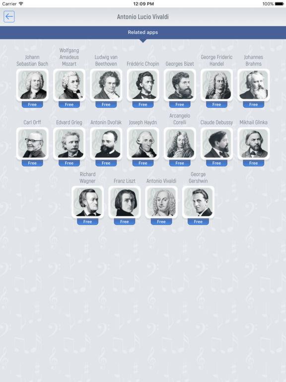 Antonio Vivaldi - Classical Music Full screenshot 6