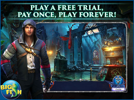 Grim Legends: The Dark City - Hidden Object Game screenshot 6