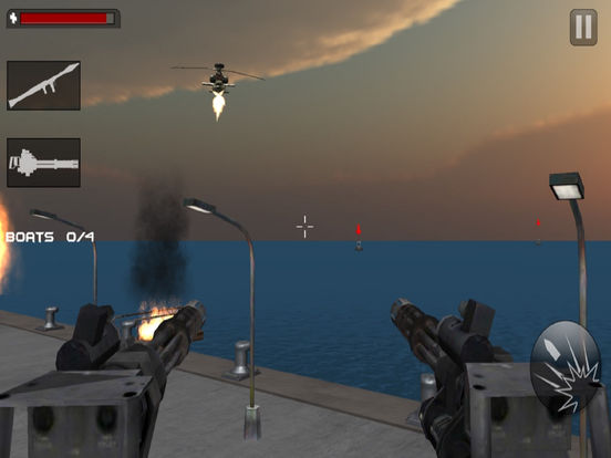 Seaport Defence Fighter : 3D Action Game screenshot 8