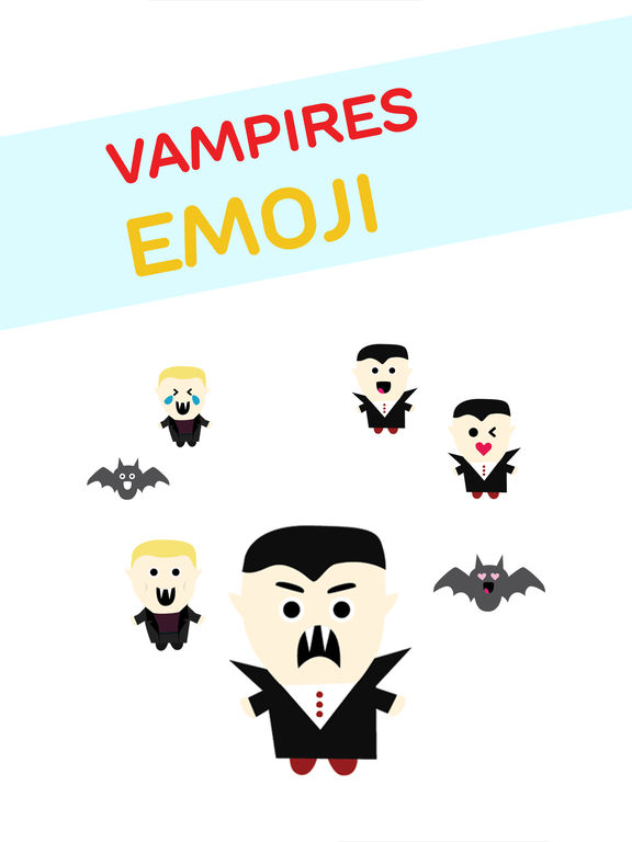 Vampires Emoji screenshot 6