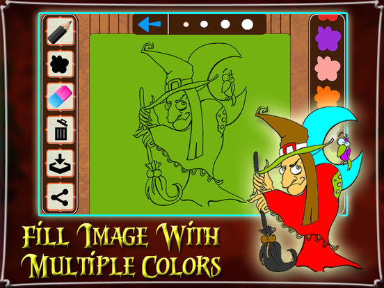 Halloween Color Paint For Kids & Adults screenshot 8