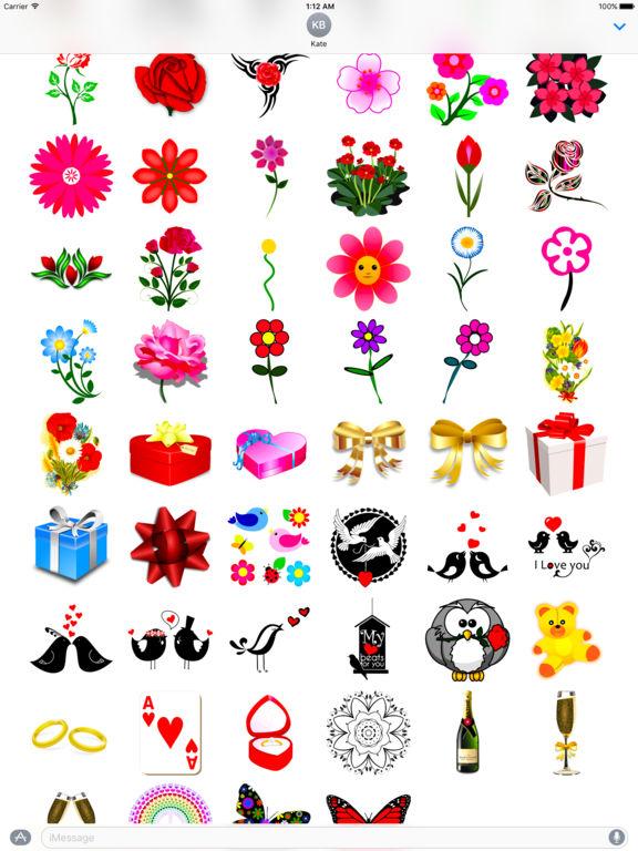 I Love You • Stickers & Emoji screenshot 7