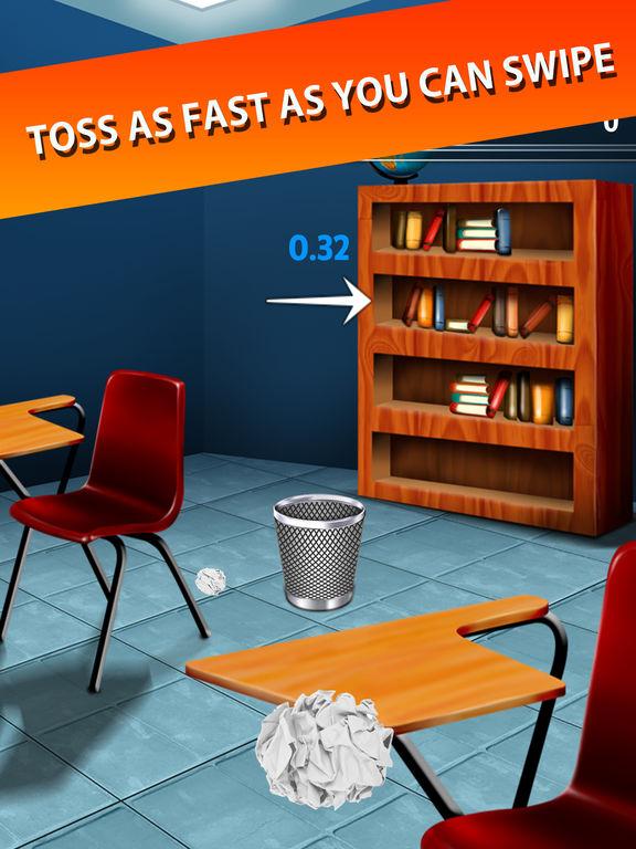Trash Toss: Paper Flings screenshot 8