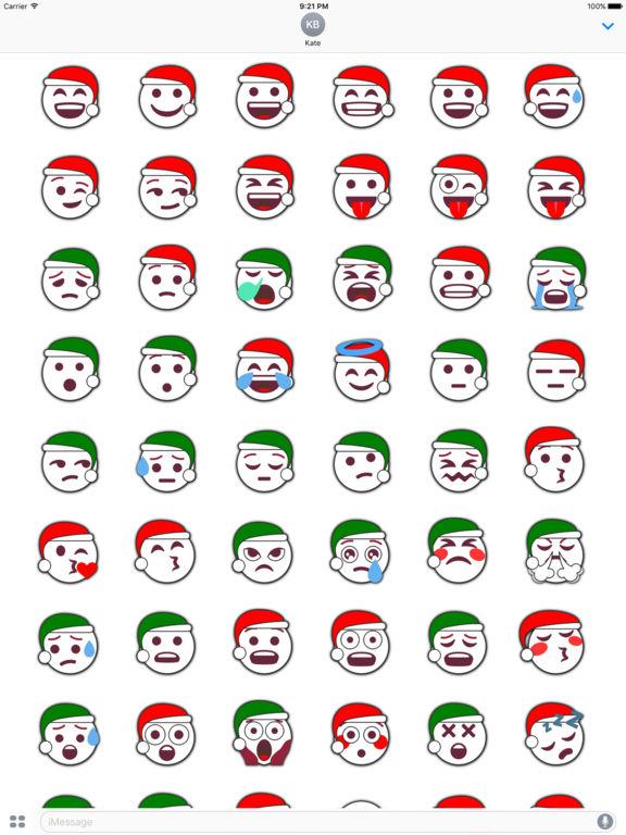 Christmas Emoji • Stickers screenshot 6