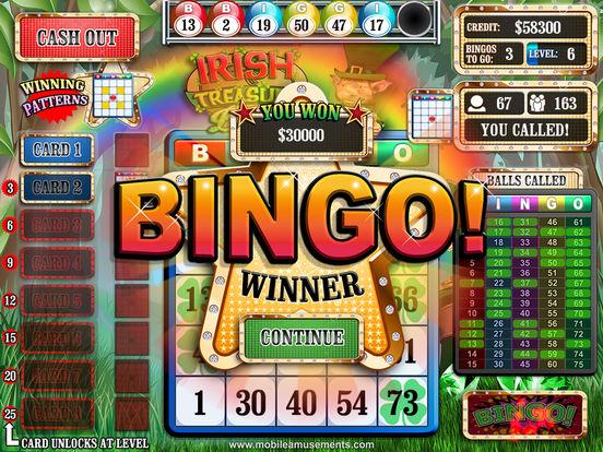 Irish Treasure Rainbow Bingo screenshot 8