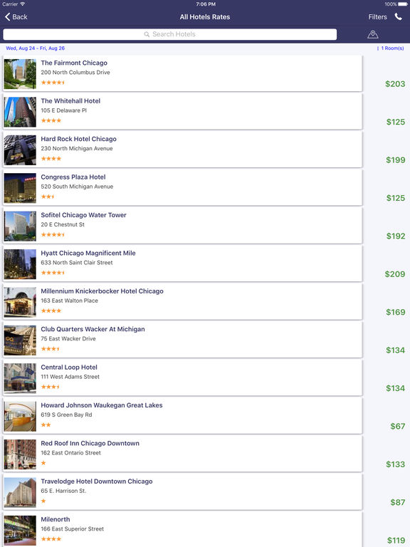 i4chicago - Chicago Hotels, Yellow Pages Directory screenshot 7