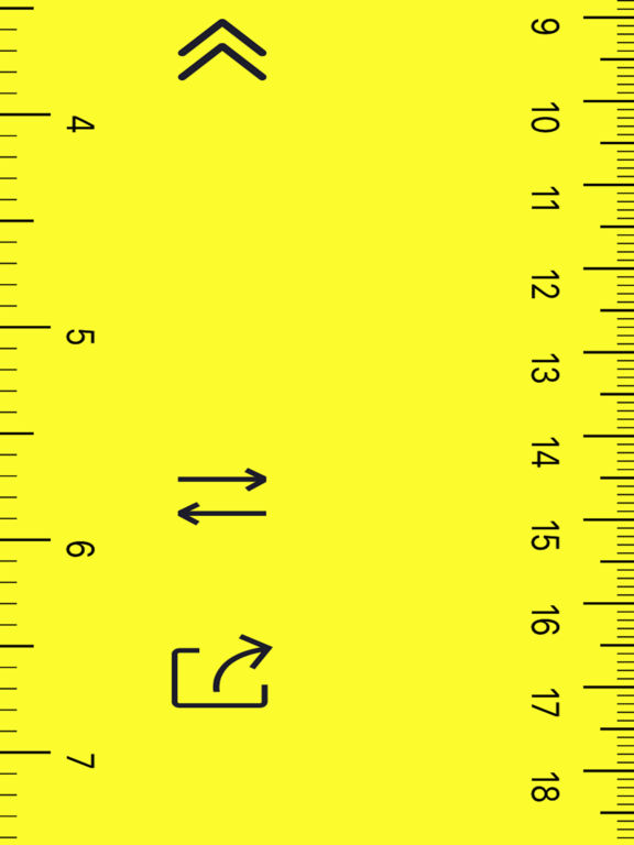 Ruler On Screen: Unlimited-Length Measuring Tape screenshot 4