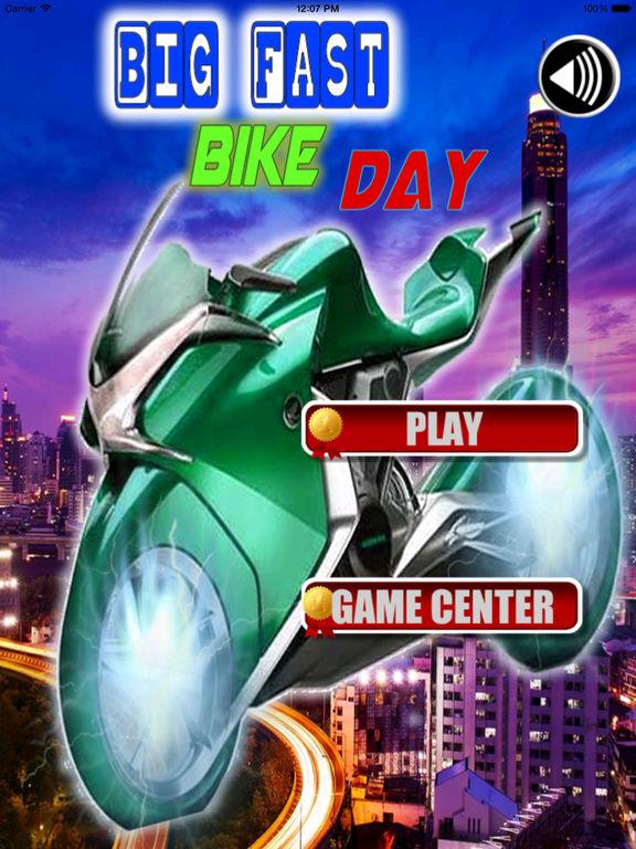 Big Fast Bike Day - Star Game Crazy Motorcycle screenshot 6