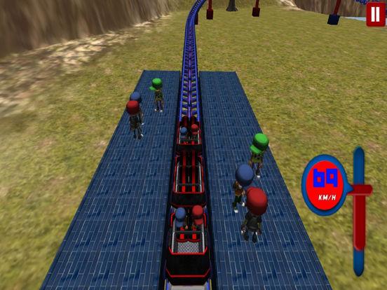 Lake Roller Coaster : 3D Hill Ride 2016 screenshot 4